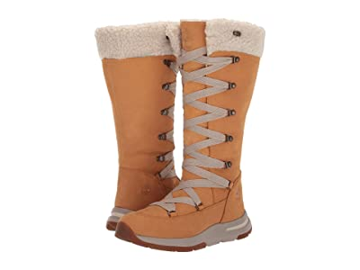 Timberland Mabel Town Tall Mukluk Waterproof Boot (Wheat Nubuck) Women