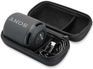 ProCase Sony SRS-XB10 ケース ハード EVA 収納 トラベル バッグ キャリングケース Sony XB10ワイヤレスブルートゥーススピーカー(2017モデル SRS-XB10)対応 充電器とUSBケーブルをフィット –ブラック