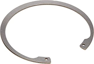 Standard Internal Retaining Ring, Tapered Section, DIN 1.4122 Stainless Steel, Passivated Finish, Meets DIN 472 Specifications, 16mm Bore Diameter, 1mm Thick, Made in US (Pack of 5)