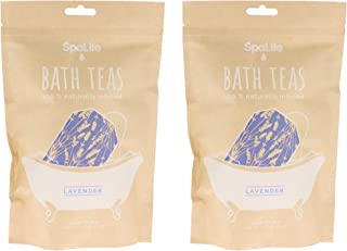 SpaLife Naturally Infused Bath Tea (Lavender (6 Pack))
