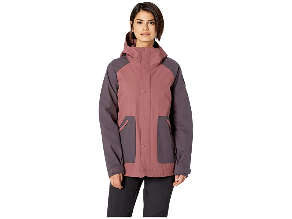 Burton Eastfall Jacket (Rose Brown/Trocadero) Women
