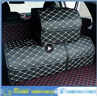 Jhong Store Car Organizer Waterproof Portable Car Storage Organizer Folding Folding Car Trunk Organizer Stowing Tidying Au...