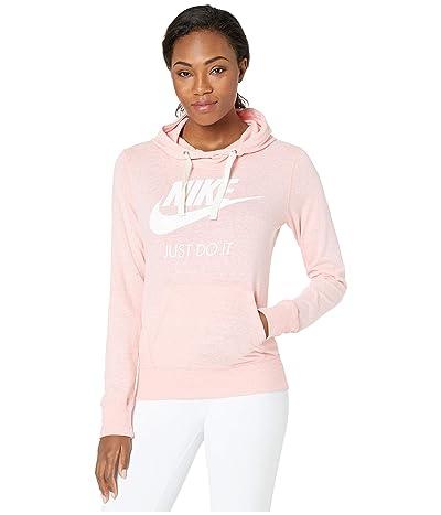 Nike Sportswear Gym Vintage HBR Hoodie (Bleached Coral/Sail) Women