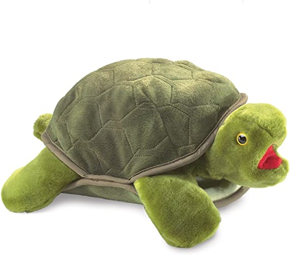 Folkmanis 2021 Plush Turtle Hand Puppet for sale online