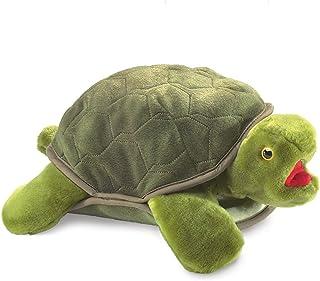 Folkmanis Turtle Plush Hand Puppet