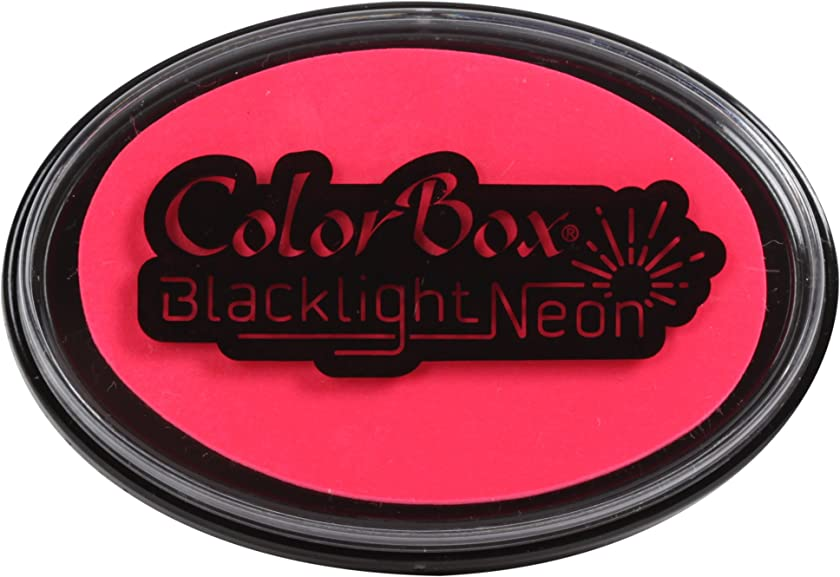 ColorBox Black Light Neon Inkpad Hot Pink