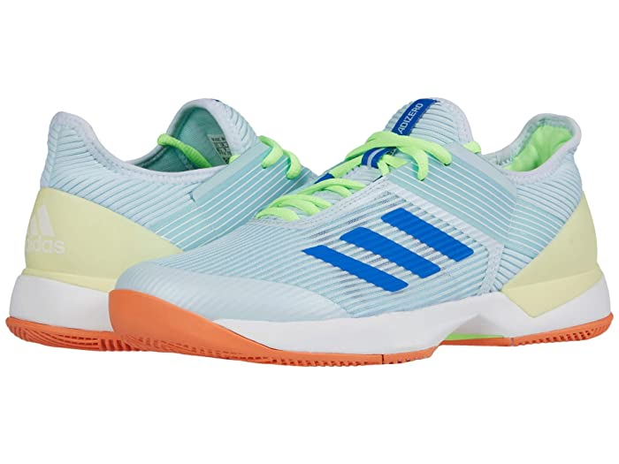 adidas  Adizero Ubersonic 3 (Sky Tint/Glory Blue/Amber Tint) Womens Tennis Shoes