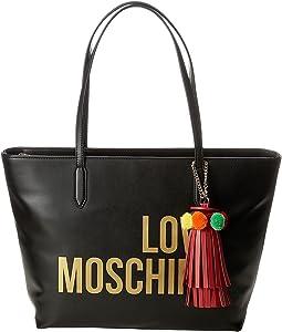 LOVE Moschino - Love Moschino Tote w/ Tassel