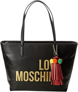 Love Moschino Tote w/ Tassel