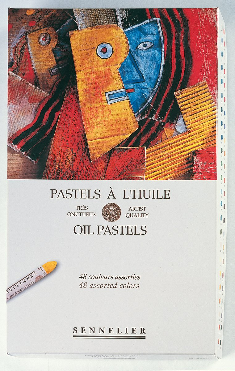 Sennelier Oil Pastels Cardboard Assorted