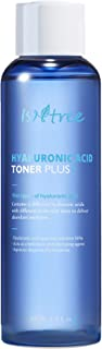 ISNTREE Hyaluronic Acid Essence Hydrating Toner Plus 6.76 Fl Oz & Cotton Pads for Face with Dry Sensitive Skin | Reduce Ac...