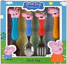 PEPPA PIG SET KIDS SPOON FORK children baby Tableware