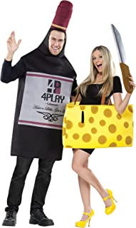 wine and cheese couples costume