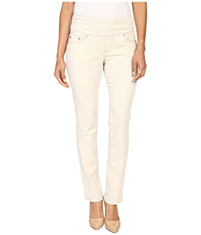 Jag Jeans Petite Peri Pull-On Straight Leg Pants in Bay Twill (Stone) Women