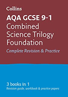 AQA GCSE 9-1 Combined Science Foundation All-in-One Complete Revision and Practice: Ideal for Home Learning, 2021 Assessme...