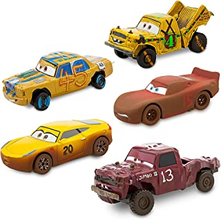 Disney Cars 3 Deluxe Die Cast Set Crazy 8 5-Piece