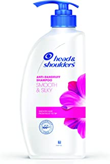 Head & Shoulders Smooth and Silky Anti Dandruff Shampoo, 650ml