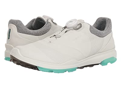 ECCO Golf Biom Hybrid 3 Boa (White/Emerald) Women