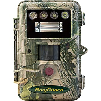 """ScoutGuard Trail Game Camera, 36MP Hunting Scouting Camera with Night Vision IR no Glow 1080P Full HD White LED/Xenon Flash for Wildlife Monitoring Security cam, 2"""" LCD Playback IP66 Waterproof"""