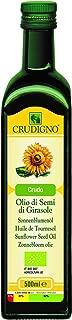 CRUDIGNOイタリア産有機ヴァージンひまわり油(オーガニックヴァージンサンフラワーオイル)500ml(コールドプレス製法)