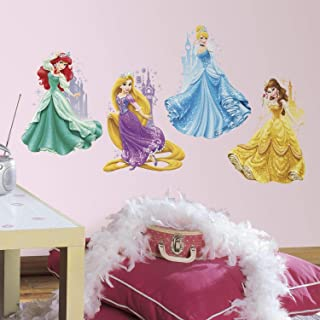 RoomMates Disney Princesses & Castles Peel And Stick Giant Wall Decals