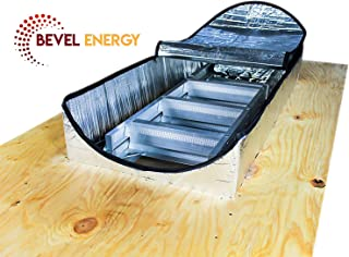 Premium Energy Saving Attic Door Insulation Stairway Cover Stair Ladder Opening Attic Tent with Easy Access Zipper 25