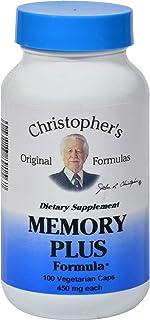 Dr. Christopher s Original Formulas Memory Plus Formula - 450 mg -100 Vegetarian Capsules