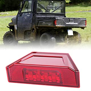 1 Pcs Rear Tail Light Assembly,New LED Brake Stop Lamp for 2013-2016 Polaris Ranger RGR Brutus 570 XP 900 1000 Replacement Part 2412774 Red-BUNKER INDUST