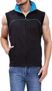 Scott International Sleeveless Jacket Men's withzip Black