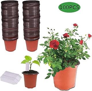 jard/ín de la Patata Planter Bolsa con Solapa de la Ventana macetas Grandes para Las Fresas Establecimiento de veh/ículos LIBHW 3 Paquete 4Gallon Patata Bolsas de Cultivo