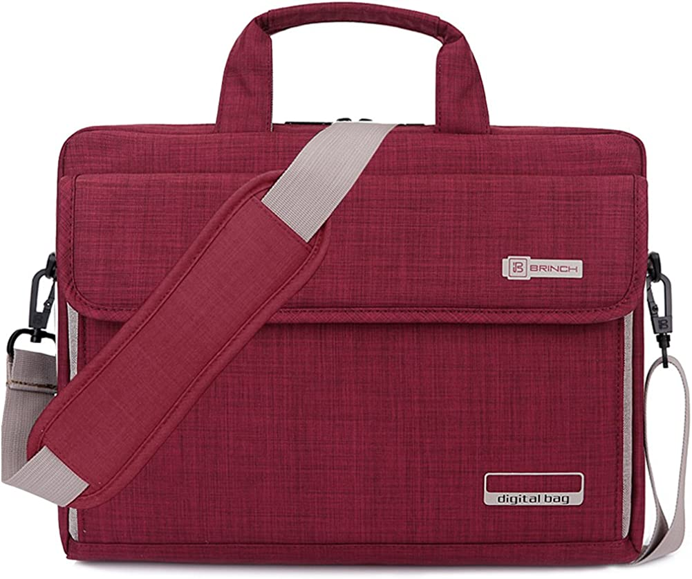 BRINCH Laptop Bag Oxford Portable Max Very popular! 46% OFF Notebook Fabric Messenger