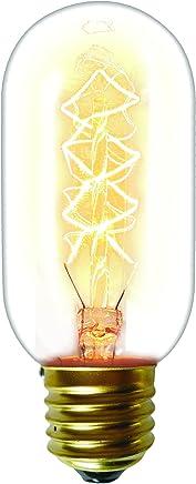 Lâmpada Filamento de Carbono E27, 40W, Ambar Taschibra T45 11050129