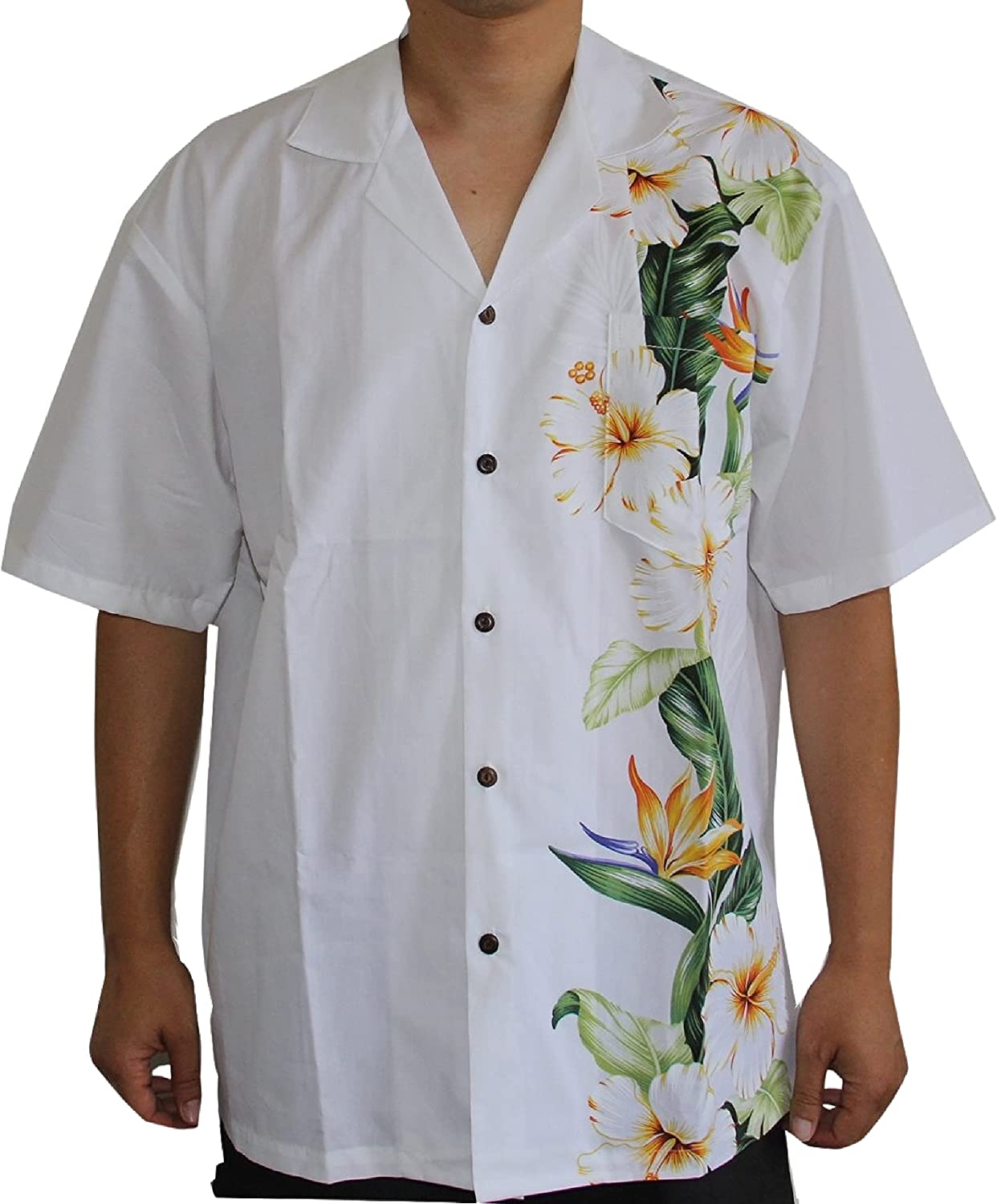 Hawaiian Men's Bird 2021 A surprise price is realized new of Shirt Paradise