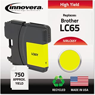 Brother Innovera LC65Y Remanufactured LC65Y High-Yield Ink Yellow