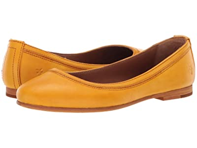 Frye Carson Ballet (Yellow) Women