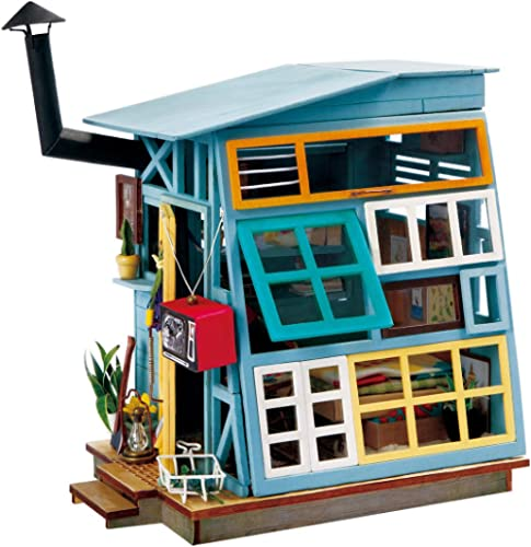 Rolife Miniature Dollhouse Kits with Accessories-Model Building Sets-Wooden Toys-Super Fun Playset-Best Birthday for ...