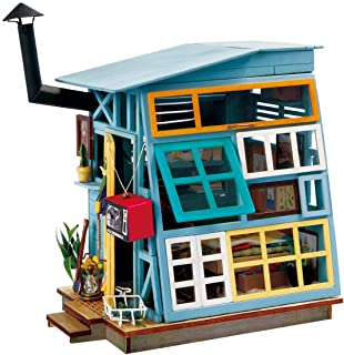 (Wooden Hut) - Rolife Miniature Dollhouse Kits With Accessories-Model Building Sets-Wooden Toys-Super Fun Playset-Best Bir...