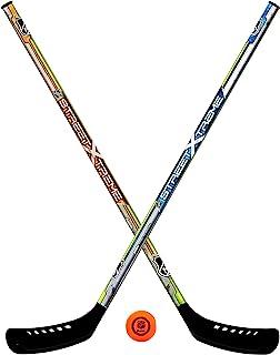 Franklin Sports Youth Street Hockey Set - Includes 2 Street Hockey Sticks and 1 Street Hockey Ball - Official NHL Licensed...