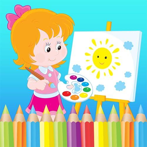 Malvorlagenbuch für Kinder - Malen und Zeichnen App zum kostenlosen Lernen und Lernen von Kindern!