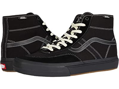 Vans Crockett High Pro (Black/Black) Men