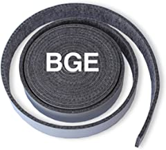 """SmokeWare High-Temp Replacement Gasket for Big Green Egg (BGE) - Large, ¼ -Inches Thick, ⅞"""" Inches Wide, 12' 8"""" Feet, Self-Stick Seal, Nomex, Made in The USA"""