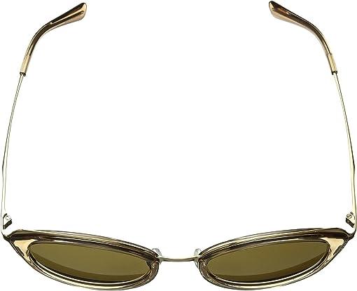 Brown Transparent/Olive Solid
