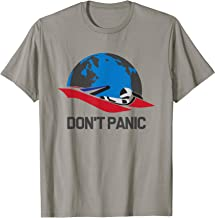 Don't panic Starman and car in space Tshirt