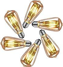 Edison vintage gloeilamp E27, LED vintage gloeilamp E27 4W, retro decoratieve Edison gloeilamp E27 warm wit, ideale verlic...