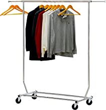 Callas Supreme Heavy-Duty Clothing Garment Rack, Chrome SG-129