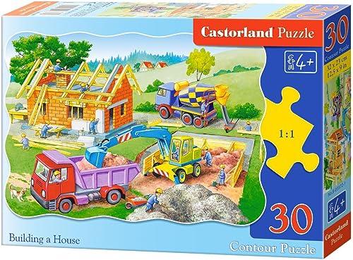 Castorland B-03372-1 - Building A House, 30-teilig, Klassische Puzzle