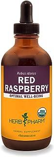 Herb Pharm Certified Organic Red Raspberry Liquid Extract - 4 Ounce