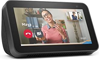 Nuevo Echo Show 5 (2.ª generación, modelo de 2021) | Pantalla inteligente con Alexa y cámara de 2 MP | Antracita
