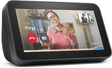 """Novo Echo Show 5 (2ª Geração, versão 2021): Smart Display de 5"""" com Alexa e câmera de 2 MP - Cor Preta"""