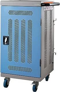 Pochar Upgrate 30 Units Laptop/Computer Charging Cart Assembled Mobile Storage Cabinet with Keypad Entry